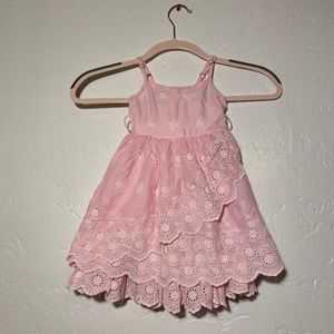 Garnet Hill Kids pink dress, size 2
